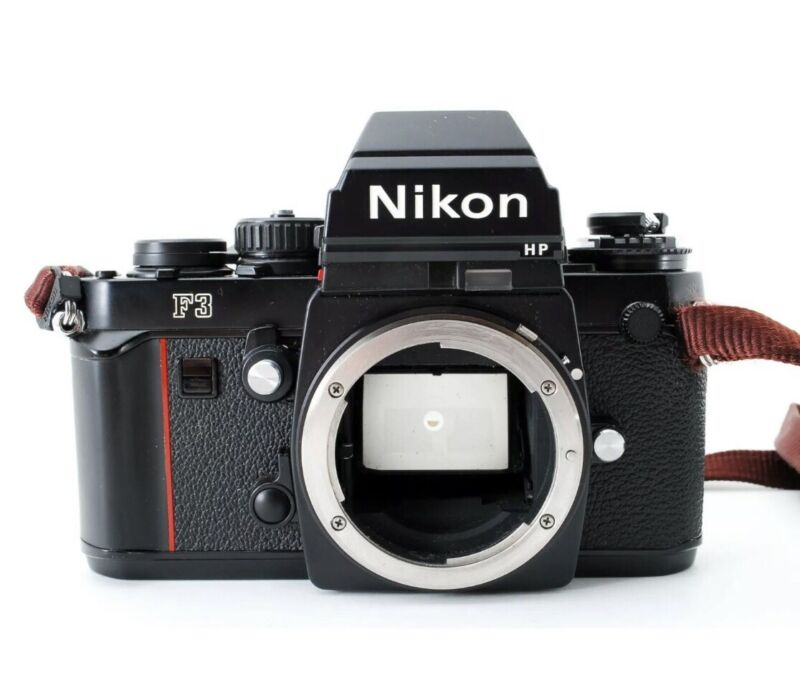 Nikon F3 HP Body 35mm Film SLR Camera Shipping Free 701661