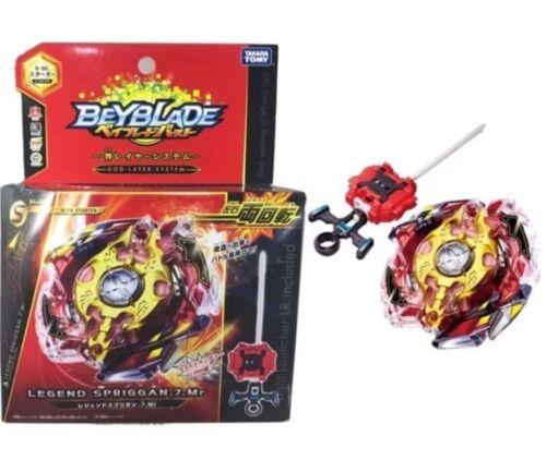 TAKARA TOMY Legend Spriggan .7.MR Beyblade Burst Starter w/