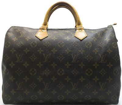 LOUIS VUITTON SPEEDY 35 BOSTON CITY HAND BAG HENKELTASCHE TASCHE HANDTASCHE - Louis Vuitton City Bag