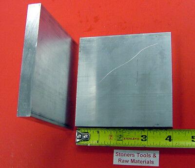 2 Pieces 14 X 4 Aluminum 6061 T6511 Flat Bar 4 Long .25 Plate Mill Stock