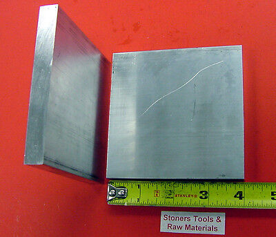 2 Pieces 14 X 3 Aluminum 6061 Flat Bar 4 Long T6511 Solid Plate Mill Stock