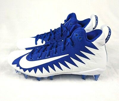 brand new 124b6 9872a Nike Alpha Menace Pro Mid Football Cleats Size 8.5 Game Royal Blue  871451-411