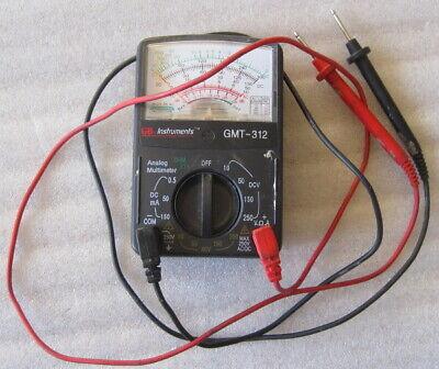 Gardner Bender Analog Multimeter - Gmt-312 - 5 Function 12 Range