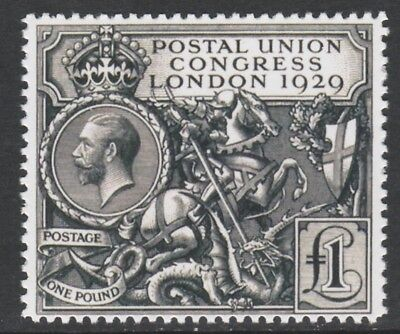 Great Britain (149) 1929 PUC £1 - a Maryland FORGERY unused