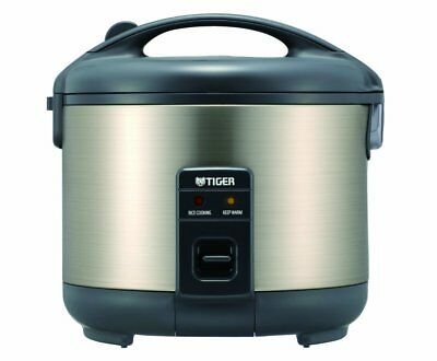 Tiger JNP-S10U-HU 5.5-Cup  Rice Cooker and Warmer, Stainless
