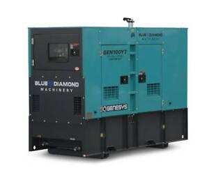 100 KVA DIESEL GENERATOR 3 PHASE 415V - BACK-UP Kewdale Belmont Area Preview