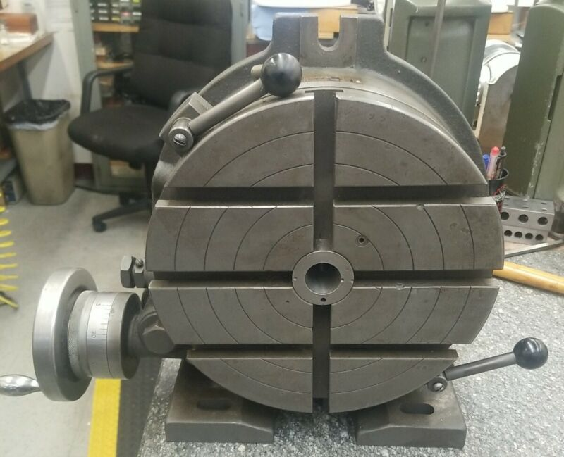 "NEWS 10"" HORIZONTAL / VERTICAL INDEXING ROTARY TABLE"