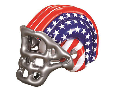 Inflatable American Football Helmet USA Rugby Blow Up Fancy Dress Toy - Blow Up Football Helmets