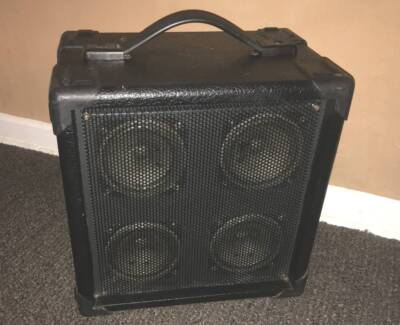 AMPOWER AC / DC Busking Spruiking Portable Amplifier PA System