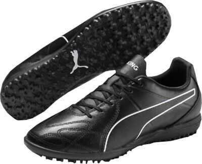 Puma King Hero TT (Astro Turf) Football Boots Mens Leather Upper Laceup Footwear