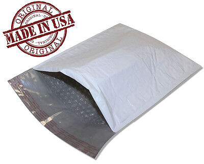 200 2 8.5x12 Poly Bubble Mailers Self Seal White Plastic Bags Envelopes 8.5 12