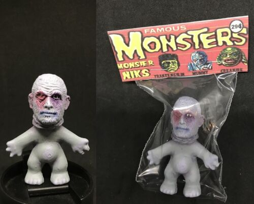 Universal Monsters Custom Made Piece The MUMMY Monster Nik Troll Retro Figure !