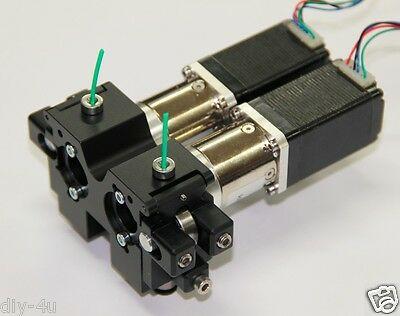 All Metal 1.75 Filament Rostock Delta Dual Extruder Bowden Reprap 3d