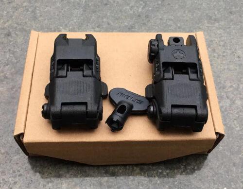 Magpul Mbus Generation 2 Backup SIGHTS Front & Rear Set, Black - MAG247MAG248
