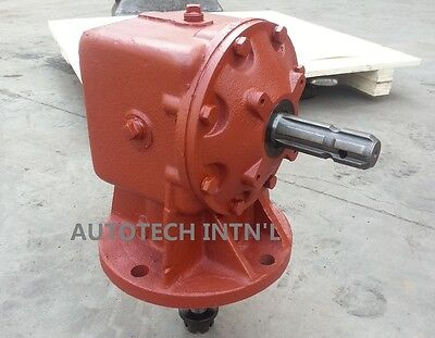 1 Pallet 32 Units 75hp Rotary Cutter Oem Gear Boxes 01-114 1146 Gear Ratio