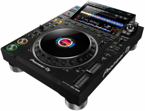 Pioneer CDJ-3000 DJ Reference Multi-Player - Black
