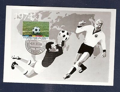 Netherlands 1974 maximum Card  Football Soccer