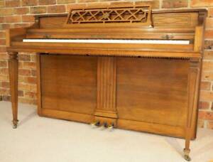 Kohler and Campbell upright boutique piano