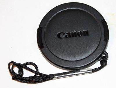Schwarz Vordere Objektivkappe Canon 48-49mm Powershot