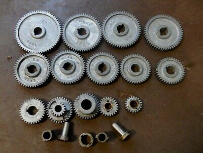 14 Gear 21 Piece Craftsman 109 Sears 6 109 Lathe Compete Set Of Thread Gears