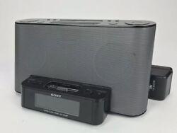 Sony ICF-CS10iP FM/AM Alarm Clock Radio Speaker Dock iPod iPhone Dream Machine