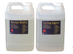 Clear Bar Table Top Epoxy Resin Coating Wood Tabletop - 2 Gallon Kit