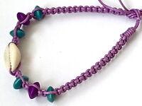 Cowrie Shell Friendship Bracelet Mens Womans Boys Girls Wristbands B0649 - unbranded - ebay.co.uk