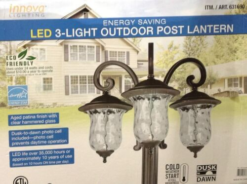 Innova Lighting LED 3-Light Outdoor Lamp Post - REPLACEMENT PARTS
