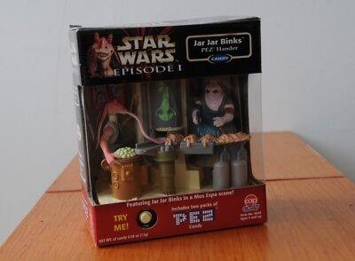 Star Wars - Episode 1 - Jar Jar Binks PEZ Hander - Mos Espa Scene -