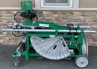 Greenlee 881ct Hydraulic Pipe Bender 2-12-4 Mbt Rigid Imc Emt 980 Pump 2