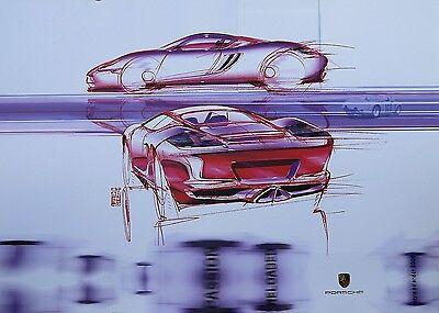 Porsche 2005 Design Calendar, number 563 of 5000