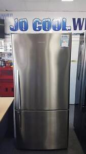 THIS IS IT! Fisher & Paykel 520L Silver Bottom Mount Fridge Freez Canning Vale Canning Area Preview
