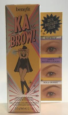 Benefit Cosmetics ka-BROW! Cream-Gel Eyebrow Color With Brush 0.1 oz - 02 Light