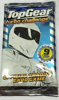 100 Packs X Top Gear Turbo Challenge Trading Cards Party Lucky Bag Piñata