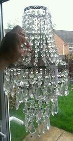 Chandelier effect light fitting for sale