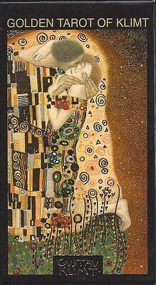 GOLDEN TAROT OF KLIMT Gustav Klimt Gold Stamped Deck Card Set tarot oracle cards
