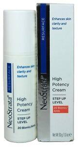 NeoStrata Resurface High Potency Cream 20 Bionic AHA 1oz/30g Nib