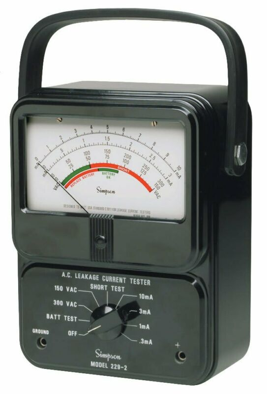 Simpson 229-2 AC Leakage Current Tester