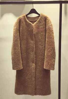 New Teddy Bear Coat Shearling teddy bear Coat Sz S/M Max Mara
