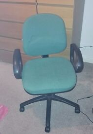 Fabric High Back Swivel Office / Computer Chair