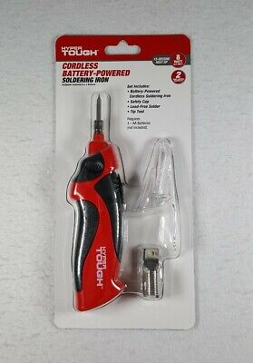Brand New Hyper Tough Cordless Battery Operated Soldering Iron - Free Shipping