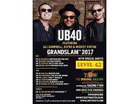 UB40 & LEVEL 42 @ CARLISLE FC 2nd JUNE