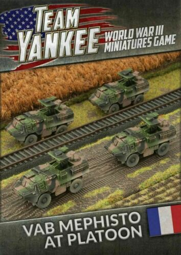 Flames of War TFBX04 Team Yankee French VAB Mephisto Anti Tank Platoon
