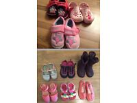 9 pair of shoes UK infant size 8 and 9