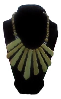Handcrafted African Bones  Necklace  Ethnic Tribal Jewelry