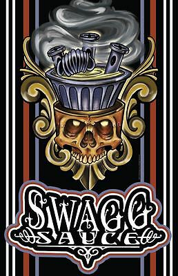 AZ Swagg Sauce Unique Authentic Artwork Posters 11x17 Tattoo ART NEW USA