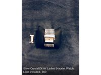 DKNY LADIES CRYSTAL WATCH