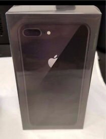 **BRAND NEW SEALED** IPHONE 8 PLUS 64GB - BLACK