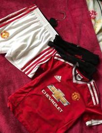 Man-U kit 4-5 years
