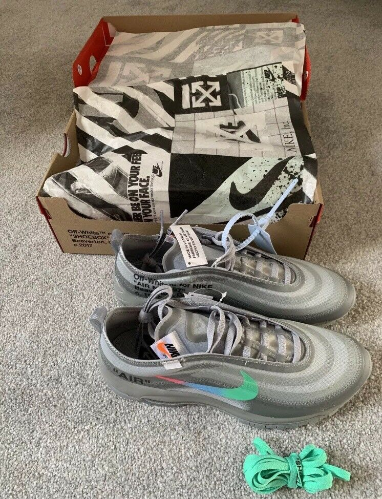Nike Air Max 97 menta off white THE TEN size uk 8 us 9 Eu 42.5 | in Bradford, West Yorkshire | Gumtree
